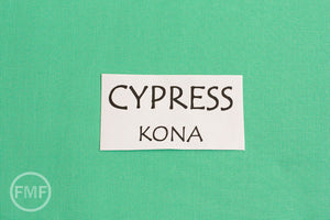 Cypress Kona Cotton Solid Fabric from Robert Kaufman, K001-1474