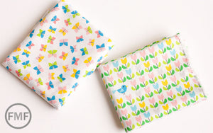 Picture Pie Butterflies, Ed Emberley, 100% GOTS-Certified Organic Cotton, Cloud9 Fabrics
