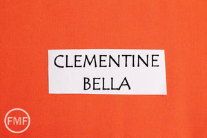 Clementine Bella Cotton Solid Fabric from Moda, 9900 209