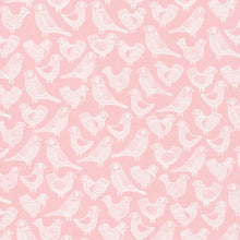 Load image into Gallery viewer, First Light Flock in Pink, Eloise Renouf, 100% GOTS-Certified Organic Cotton, Cloud9 Fabrics, 134005