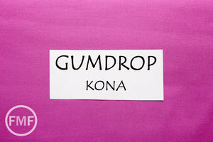 Gumdrop Kona Cotton Solid Fabric from Robert Kaufman, K001-489