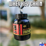Whey Protein Key Chain