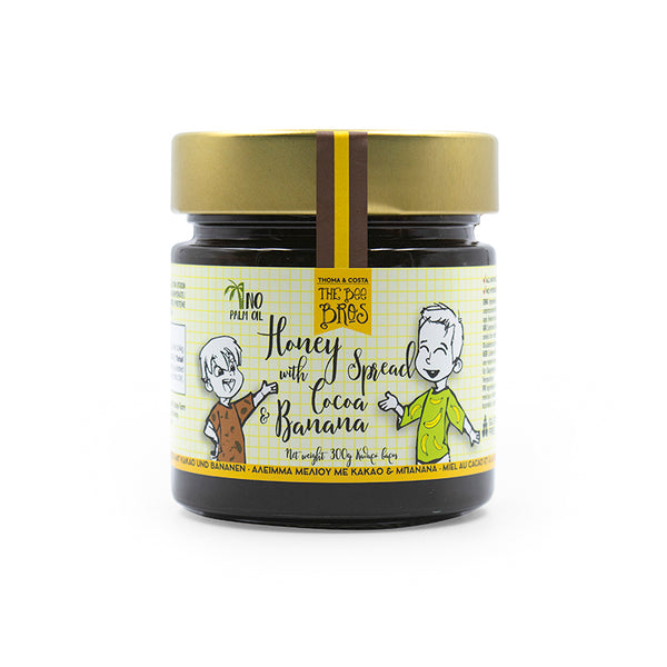 Honey with Cocoa & Banana Spread 300g