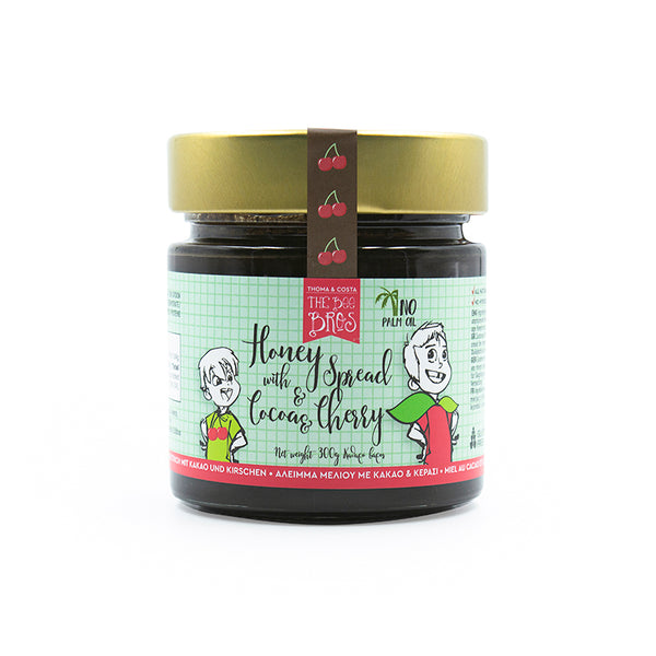 Honey with Cocoa & Cherry Spread 300g
