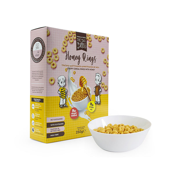 Crispy Cereal Honey Rings with Honey 250g