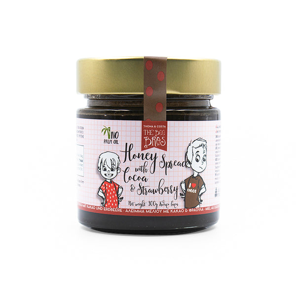 Honey with Cocoa & Strawberry Spread 300g