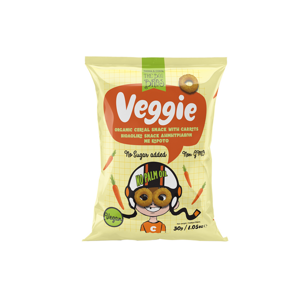 Organic Cereal Snack with Carrots 30g