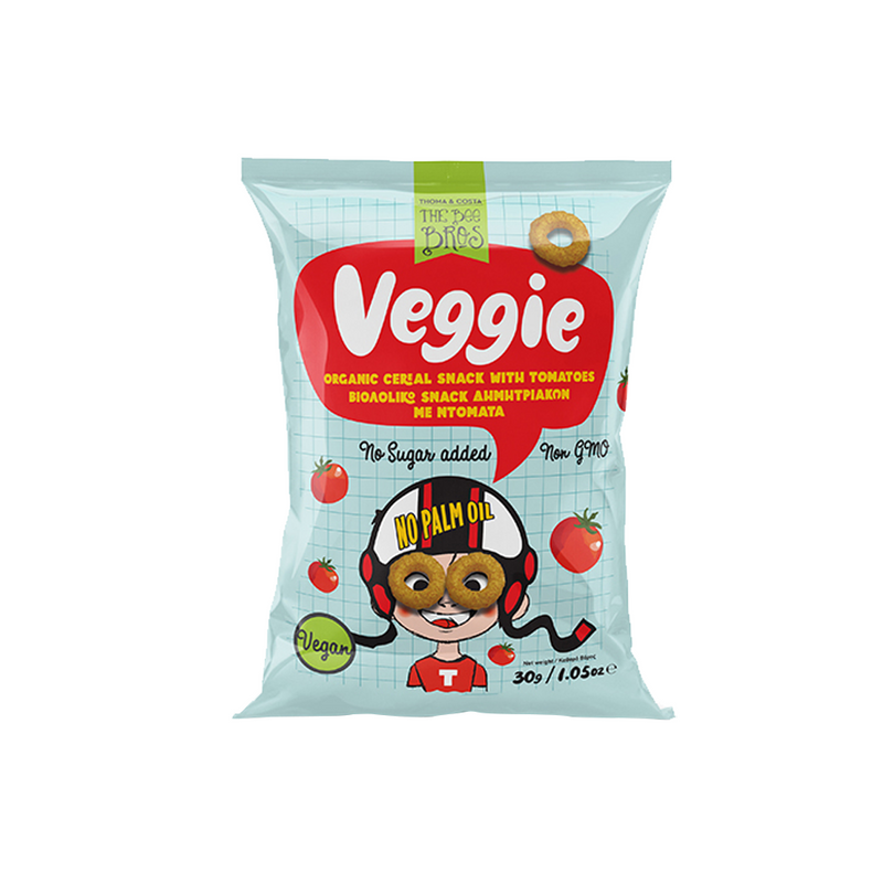 Organic Cereal Snack with Tomatoes 30g
