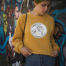 Load image into Gallery viewer, MS. MUSTARD CROP SWEATER [LADIES]