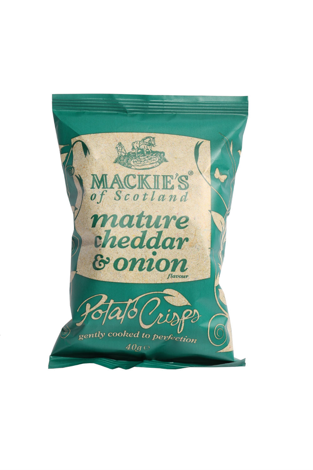 Mackie's cheddar & onion chips