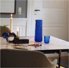 Indlæs billede til gallerivisning DANISH SUMMER TUMBLER SMALL DROPS DARK BLUE
