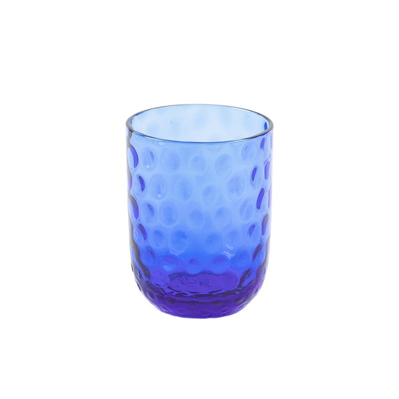 DANISH SUMMER TUMBLER SMALL DROPS DARK BLUE