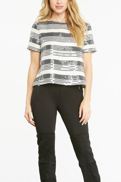 Wexner Sequin Top