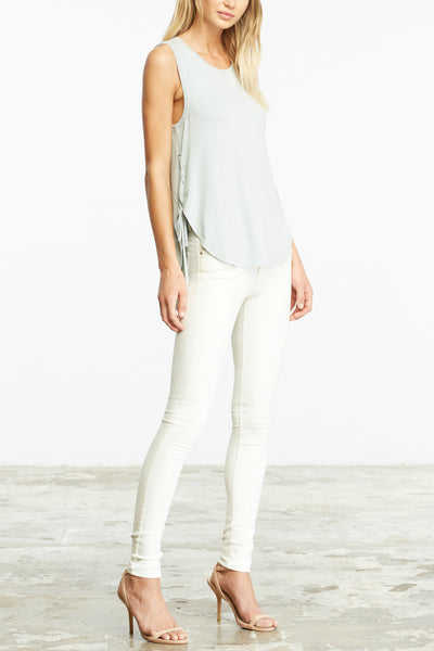 Lester Lace Up Tank