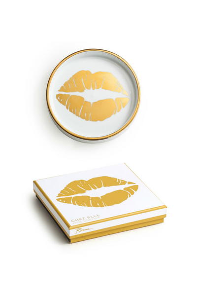 Kiss Wine Coaster