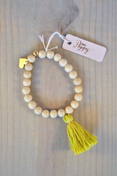 Tassel Stretch Bracelet