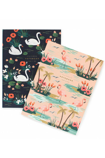 Rifle Paper Co. Birds of a Feather set of 2 notebooks