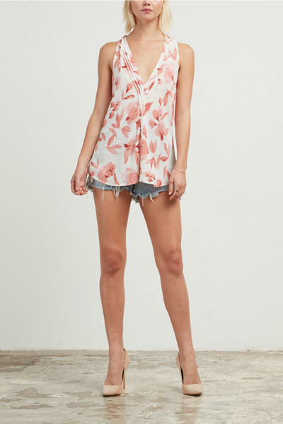 Weekend Away Floral Tank
