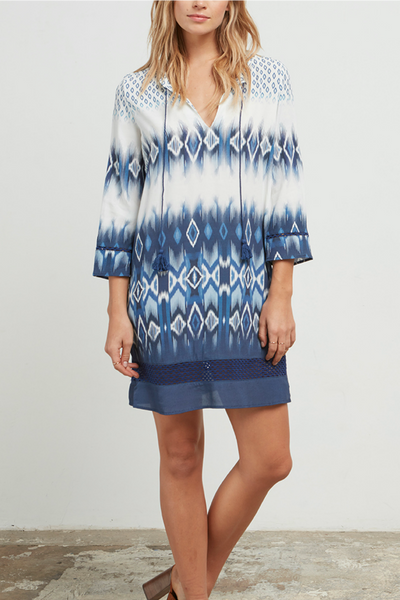 Quest Printed Tunic Dress