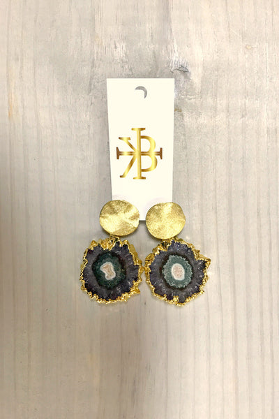 Stalactite Stud Earrings