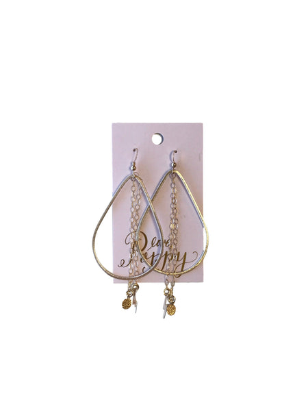 Charm Teardrop Earrings