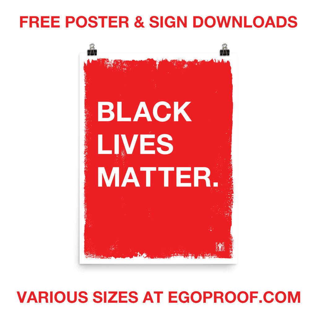 Free Black Lives Matter Signs