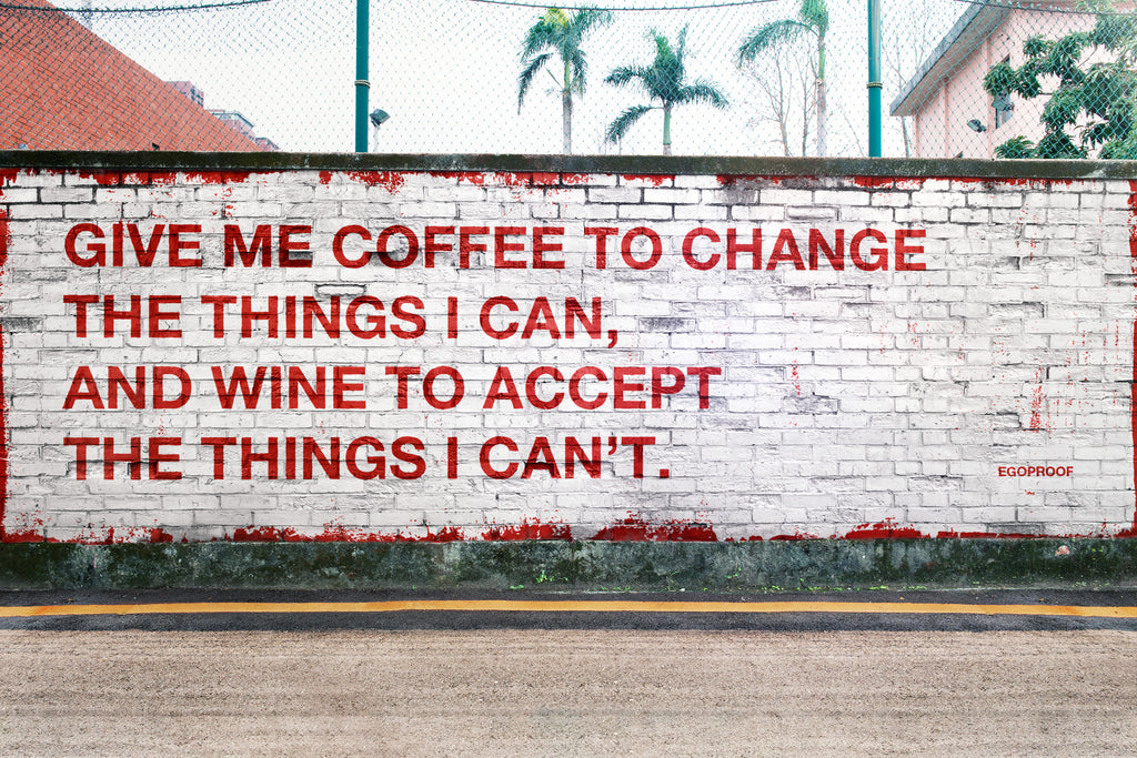 Give Me Coffee Or Wine