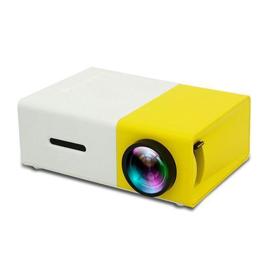 ROCKETPROJECTOR™ Mini Projector 2107 RocketProjector Yellow US