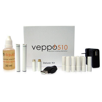 510 E-cigarette Deluxe kit - white