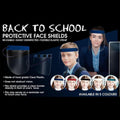 Medical Distributors Back to School Personal Protection (PPE) Face Shield