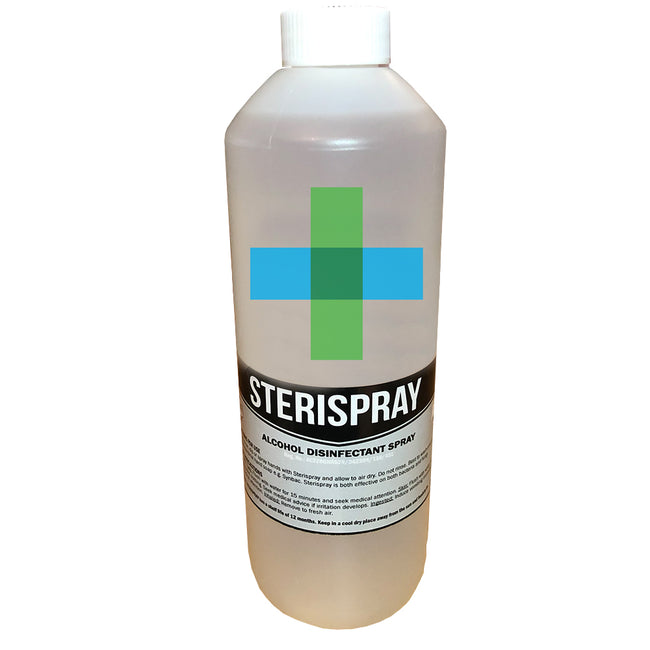 1L SABS Approved Sterispray Disinfectant 70% Alcohol Hand Disinfectant | Sanitiser