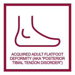 """Non-Surgical Protocol for stage 2 """"Acquired Adult Flatfoot Deformity"""", also known as """"Posterior Tibial Tendon Disorder (PTTD)"""""""
