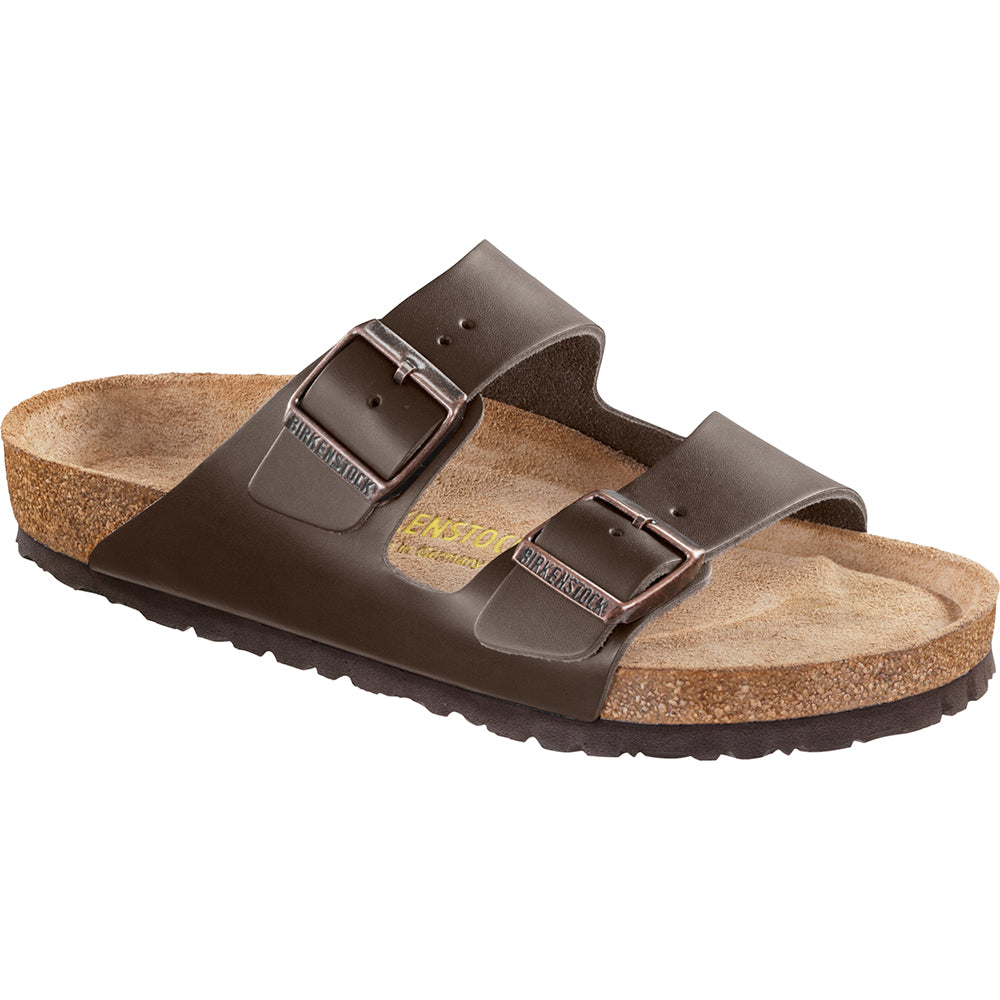 'Arizona' Brown Leather - Soft Footbed (Regular Width)