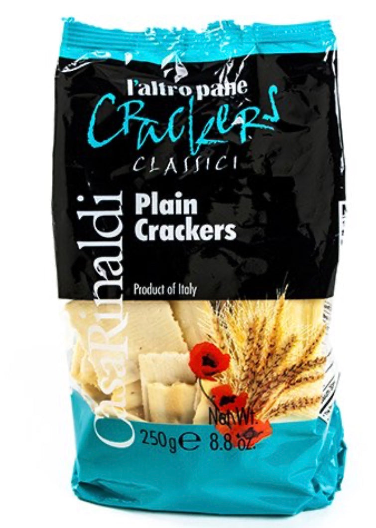 Casa Rinaldi plain crackers