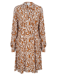 Dante 6 Kleid - Rousset Printed Dress, powder puff