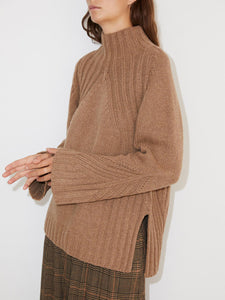 By Malene Birger Pullover in Camel - LEEA