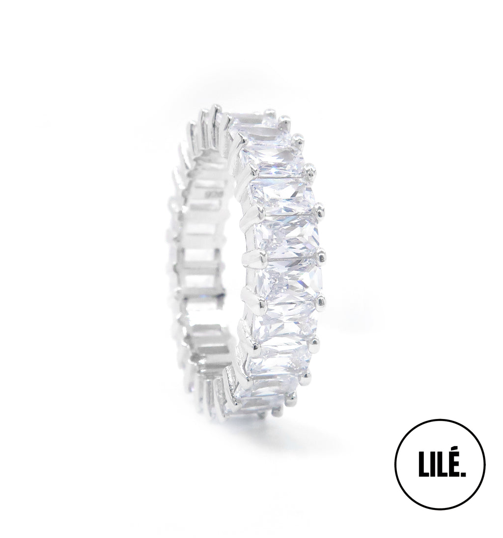 Eternity Ring Sterling Silver Shoplile.com