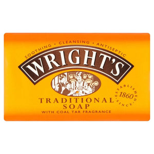 Wright's Traditional Coal Soap 4 pk (4x125g)