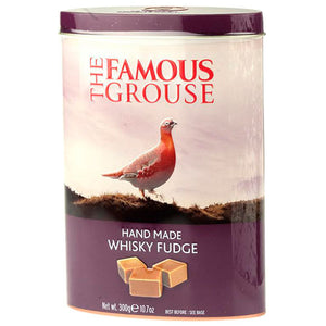 Whisky Fudge Famous Grouse Tin 250g