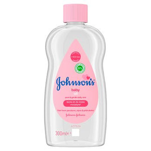 JOHNSON'S® Baby Oil 300ml