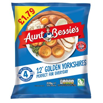 Aunt Bessies Yorkshire Puddings  (shop pick-up only)