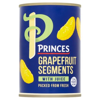 Princes Grapefruit Segments with Juice 411g