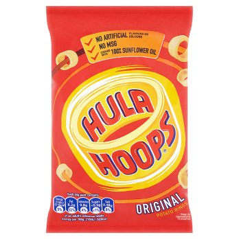 Hula Hoops Original Potato Rings 34g