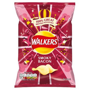 Walkers Smoky Bacon Crisps 32.5g