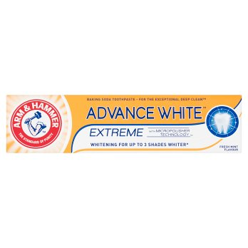 Arm & Hammer Advance White Extreme with Micropolisher Technology Baking Soda Toothpaste 75ml