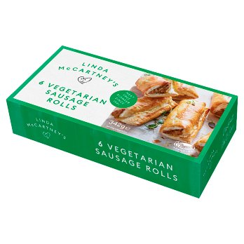 Linda McCartney's 6 Vegetarian Sausage Rolls (shop pick-up only)