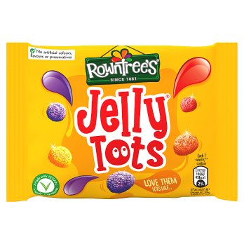 Rowntrees Jelly Tots Sweets 42g