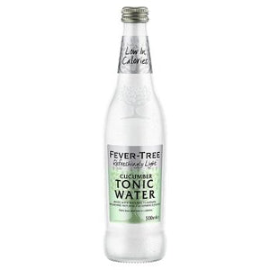Fever-Tree Refreshingly Light Cucumber Tonic Water 500ml