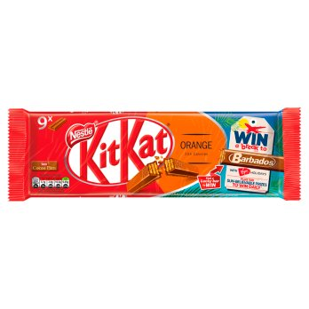 Kit Kat 2 Finger Orange Chocolate 9 Pack