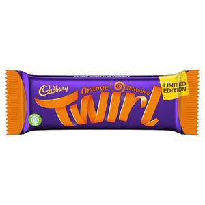 Cadbury Twirl Orange Chocolate Bar 43g